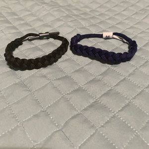 Set of 2 rastaclat bracelets